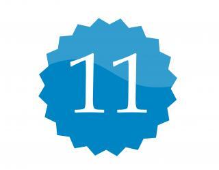 11 badge