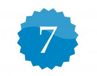 7 badge