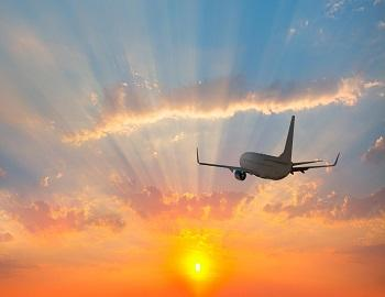 airplane_and_sunset_
