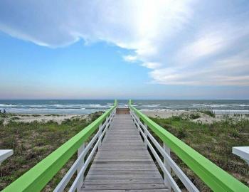Isle of Palms oceanfront boardwalk