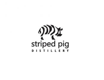 stripped pig