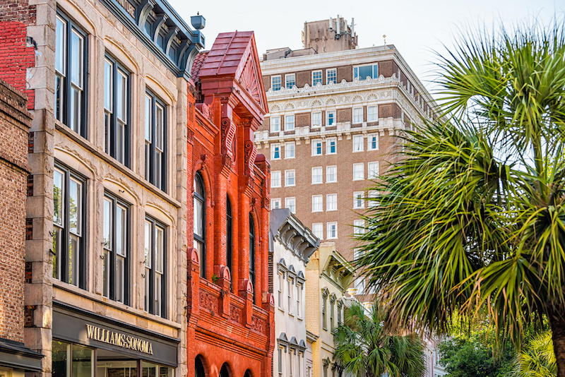King Street in Charleston